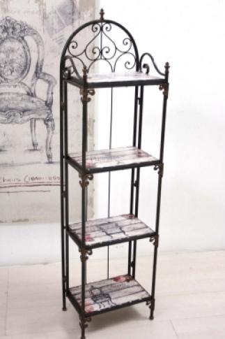 scaffali in ferro battuto ikea abbinamento mobili