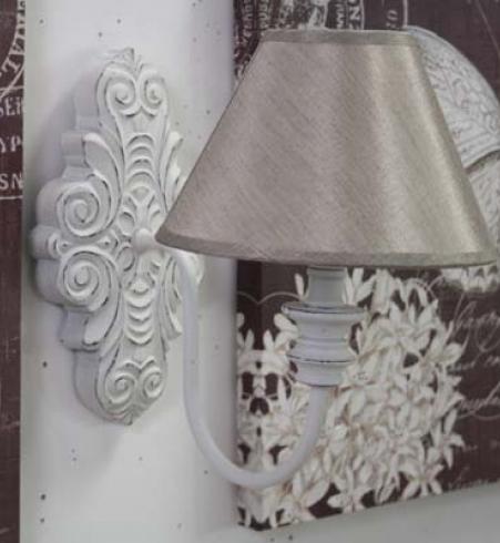 applique bianco shabby chic etnico outlet mobili etnici. Black Bedroom Furniture Sets. Home Design Ideas