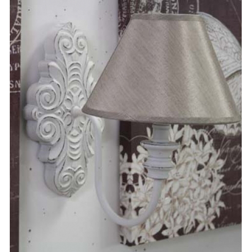 Applique bianco shabby chic