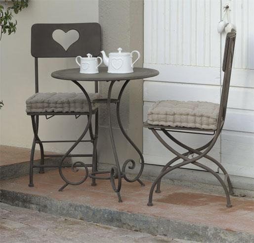 Tavolino rotondo ferro battuto brunito outlet mobili etnici - Tavolino da giardino ikea ...