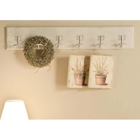 Appendiabiti da parete fai da te infissi del bagno in bagno - Appendiabiti per bagno ...