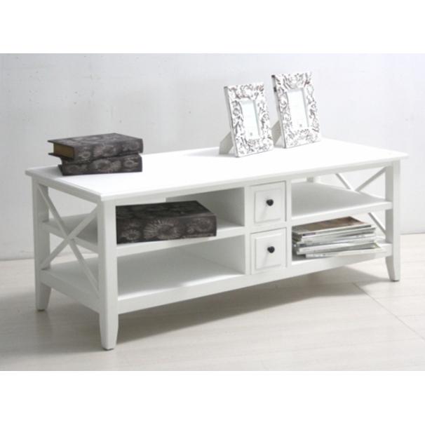 Porta tv legno bianco shabby - Etnico Outlet mobili etnici