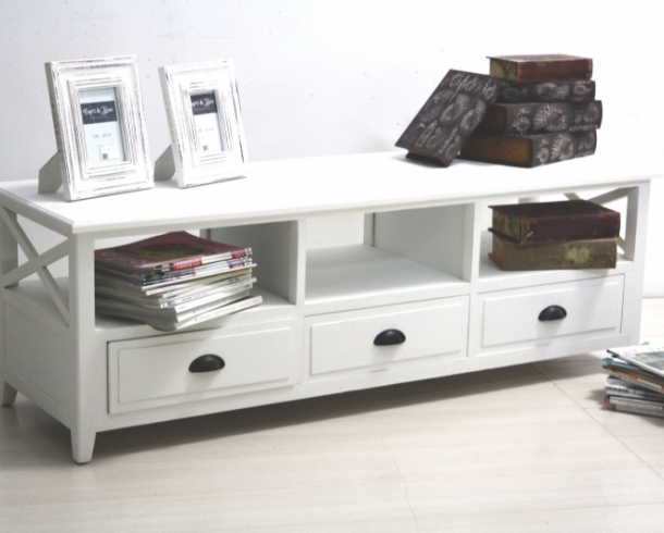 Mobili tv shabby chic porta tv legno bianco shabby - Mobiletti porta tv ikea ...