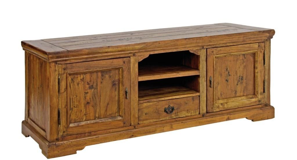 Porta tv country legno massello mobili rustici online - Dalani mobili porta tv ...