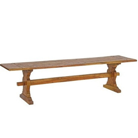 Panca country legno massello