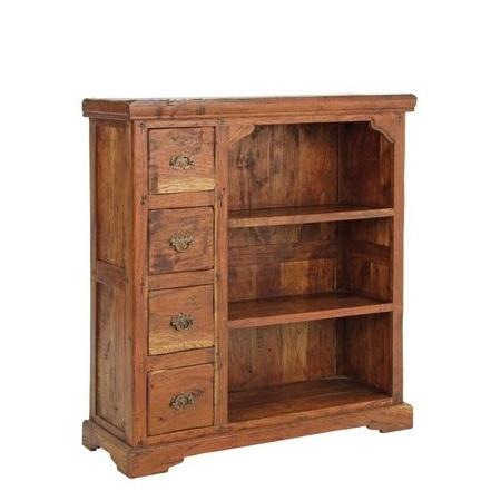 Libreria country legno massello librerie etniche online for Libreria shop online