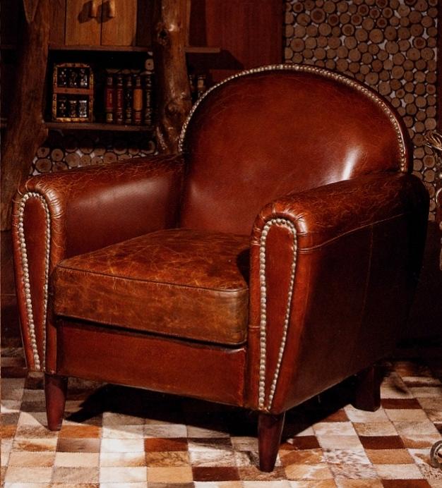 Poltrona in cuoio vintage poltrone e divani for Poltrona vintage pelle