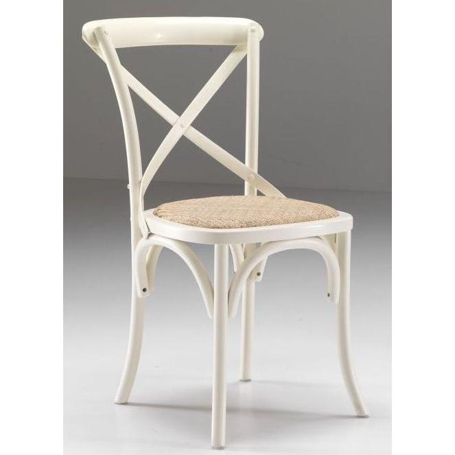 Sedia rovere bianco antico sedie legno bianco shabby for Outlet della sedia milano