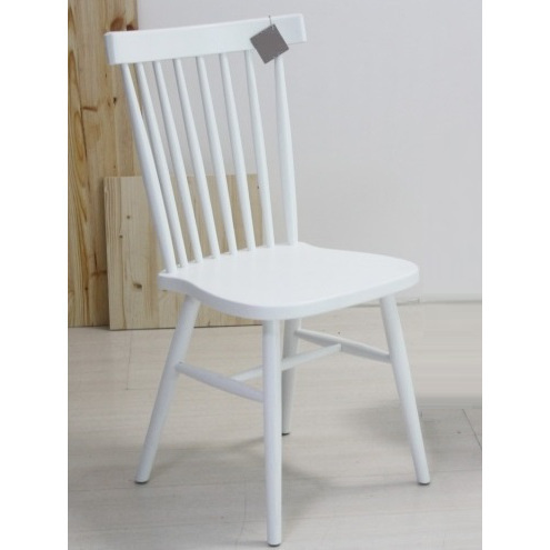 Sedia bianca country chic sedie rustiche online for Sedia design bianca