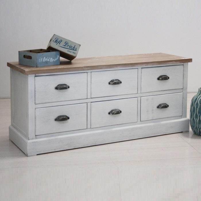porta tv provenzale legno bianco mobili provenzali vendita