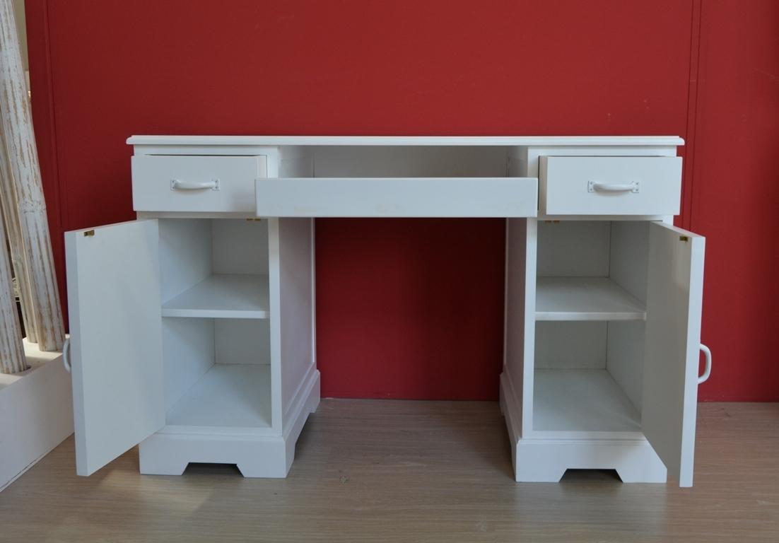 Scrivania Vintage Bianca: Mobile ufficio soggiorno di ...