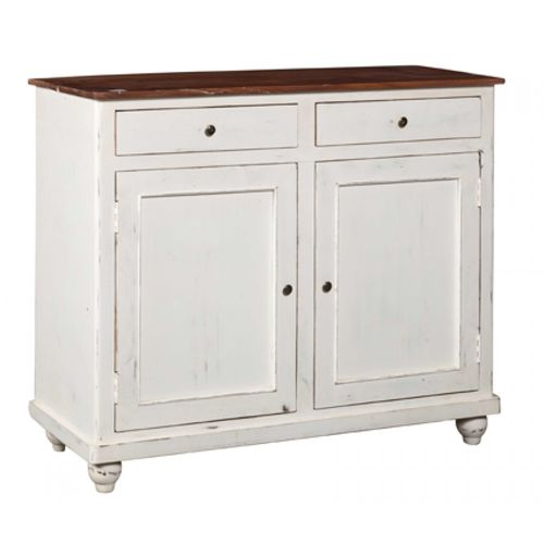 Buffet bianco shabby country