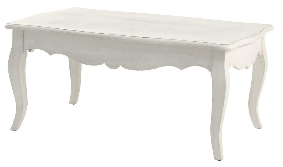 Tavolini In Legno Bianco : Tavolino legno bianco etnico outlet mobili etnici