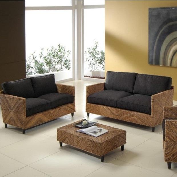 Salotto con divano idee per il design della casa - Ricoprire un divano ...