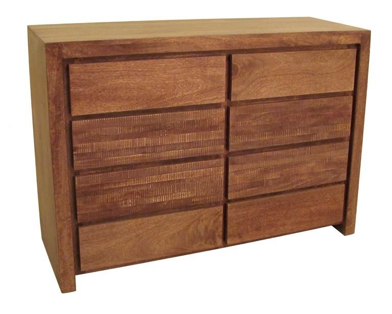 Cassettiera legno massello etnico outlet mobili etnici - Mobili legno massello ...