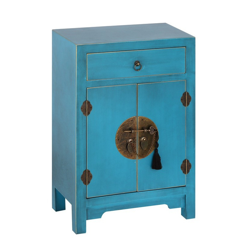 Comodini blu comodini blu comodino cinese cera blu cielo etnico outlet - Mobilandia outlet torino ...
