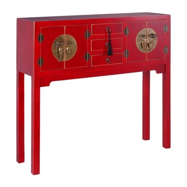 Consolle cinese colore rosso mobili cinesi offerte online for Muebles chinos outlet