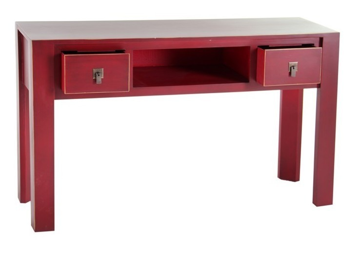 Etnico outlet consolle scrivania cinese rossa for Consolle scrivania
