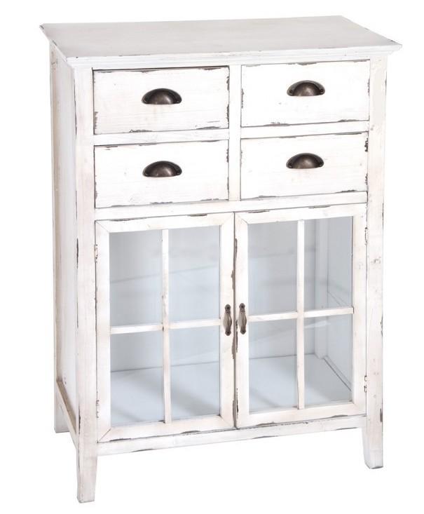 mobiletto bianco shabby chic mobili provenzali e shabby