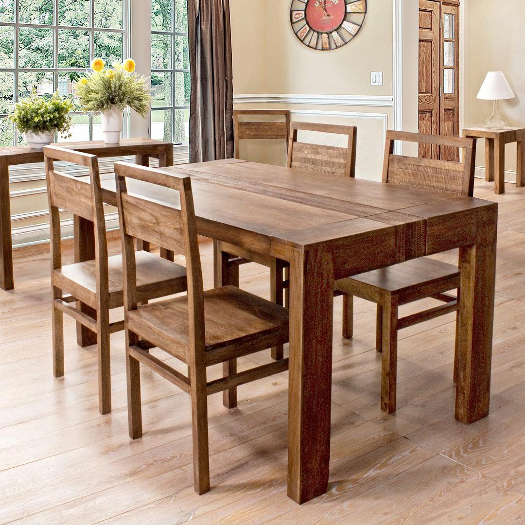 Tavolo etnico legno di mango etnico outlet mobili etnici - Tavoli da divano ...