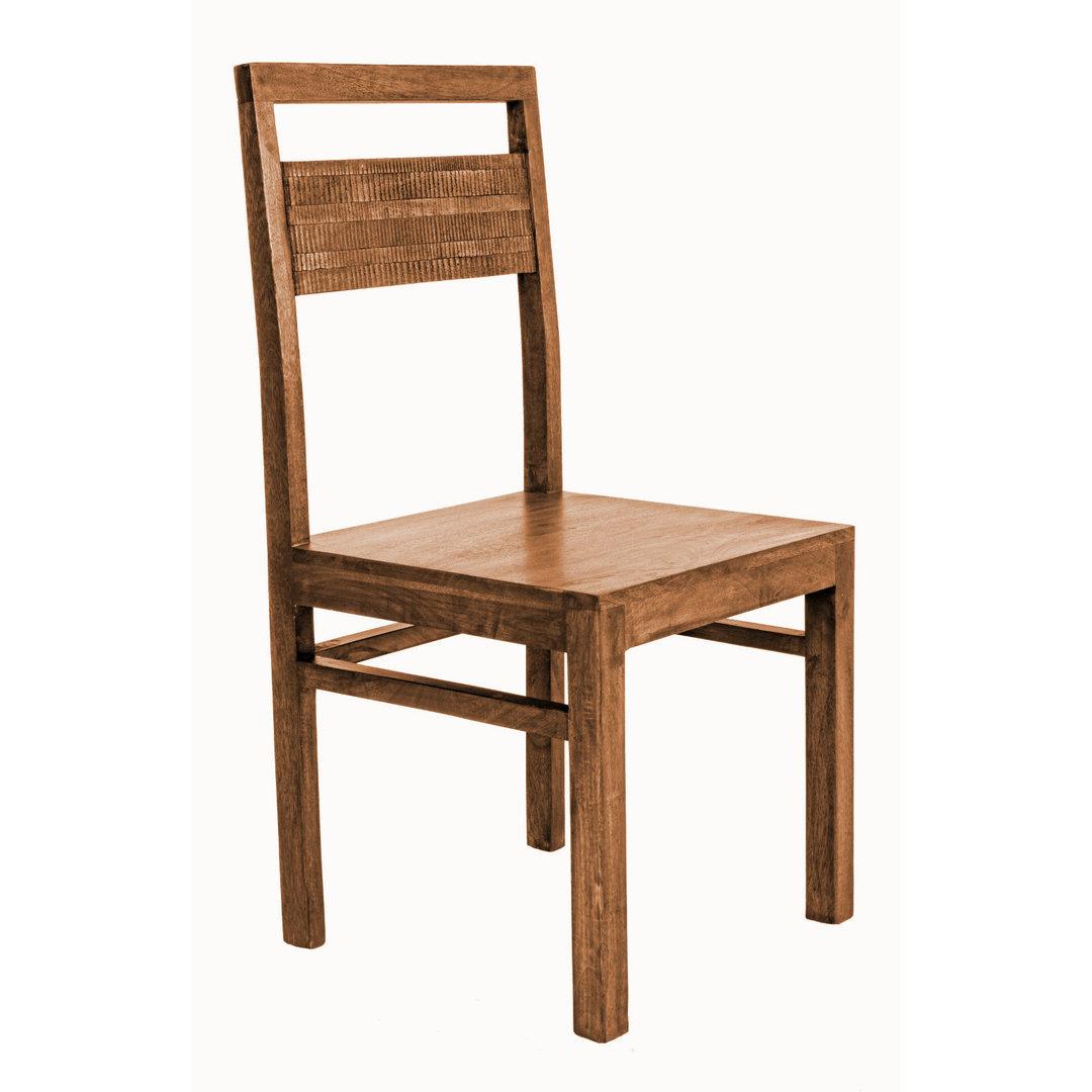 Sedia legno di mango sedie legno massello for Sedia di d annunzio