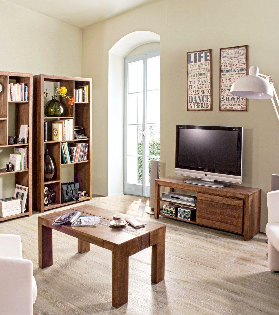 Mobile porta tv in legno di mango mobili etnici online - Mobile porta tv legno ...