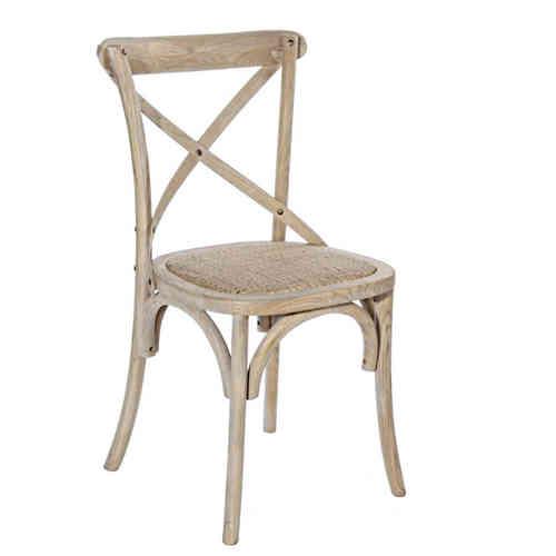 Sedia legno olmo naturale sedie provenzali online for Sedie cucina on line