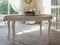 Tavolo provenzale ovale allungabile mobili provenzali for Tavoli allungabili bianchi