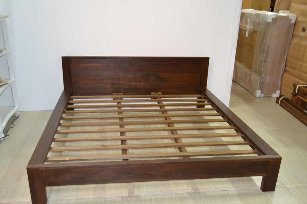 Letto etnico legno massello   etnico outlet mobili etnici