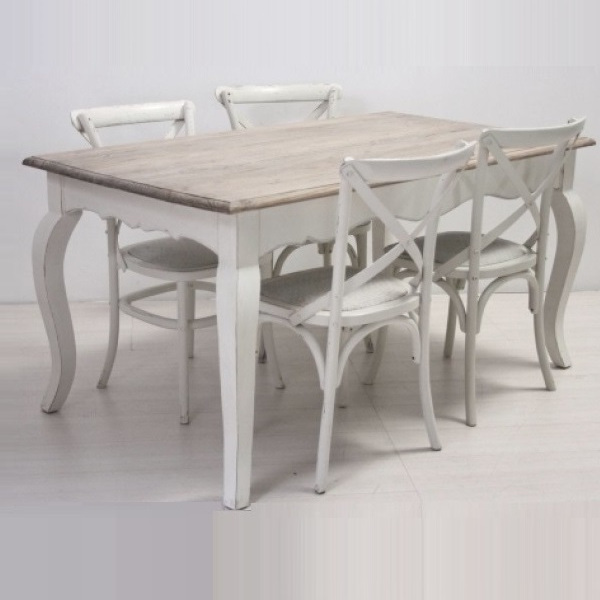 tavolo shabby chic 4 sedie tavoli pranzo shabby