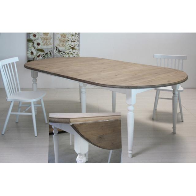 Tavolo legno shabby chic mobili provenzali shabby chic - Tavolo shabby chic ...