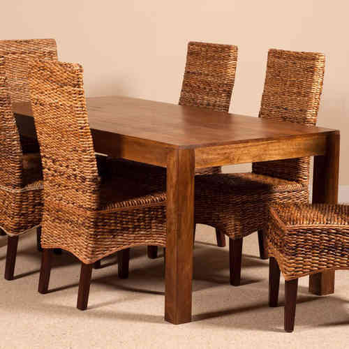 Tavoli etnici legno vendita online prezzi scontati etnico outlet - Tavolo in legno massello prezzi ...