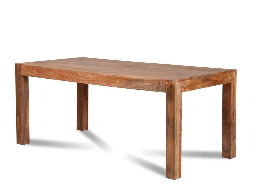 Mobili etnici tavolo etnico legno massello 140cm - Tavolo massello ...