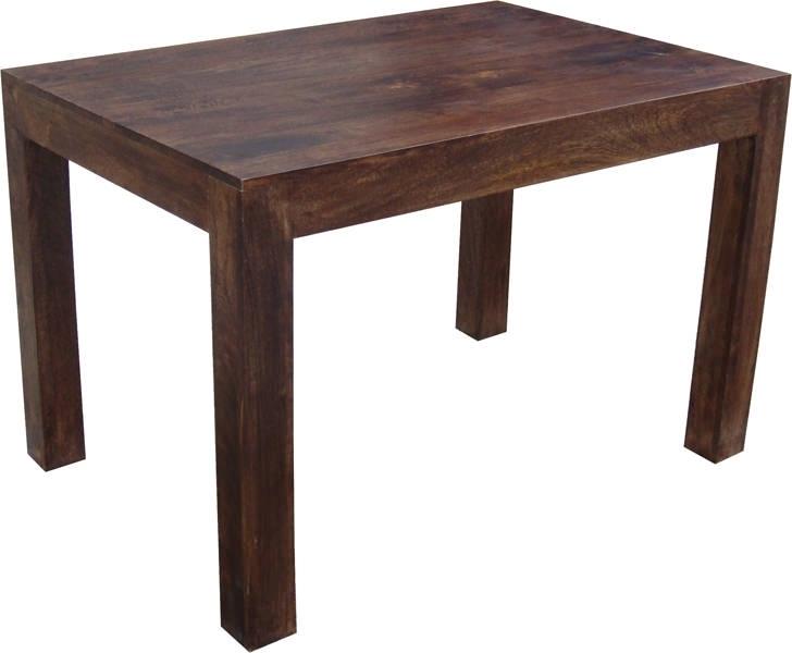 Mobili etnici tavolo etnico legno massello 120cm - Tavolo noce massello ...