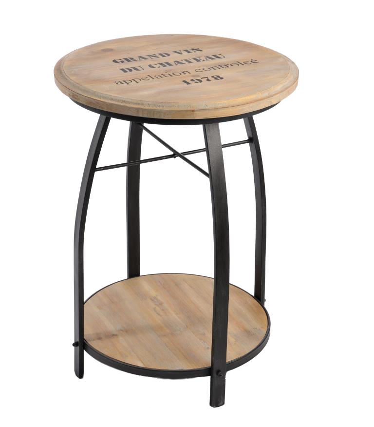 Sgabello tavolino etnico vintage sgabelli legno e ferro for Tavolino sgabello