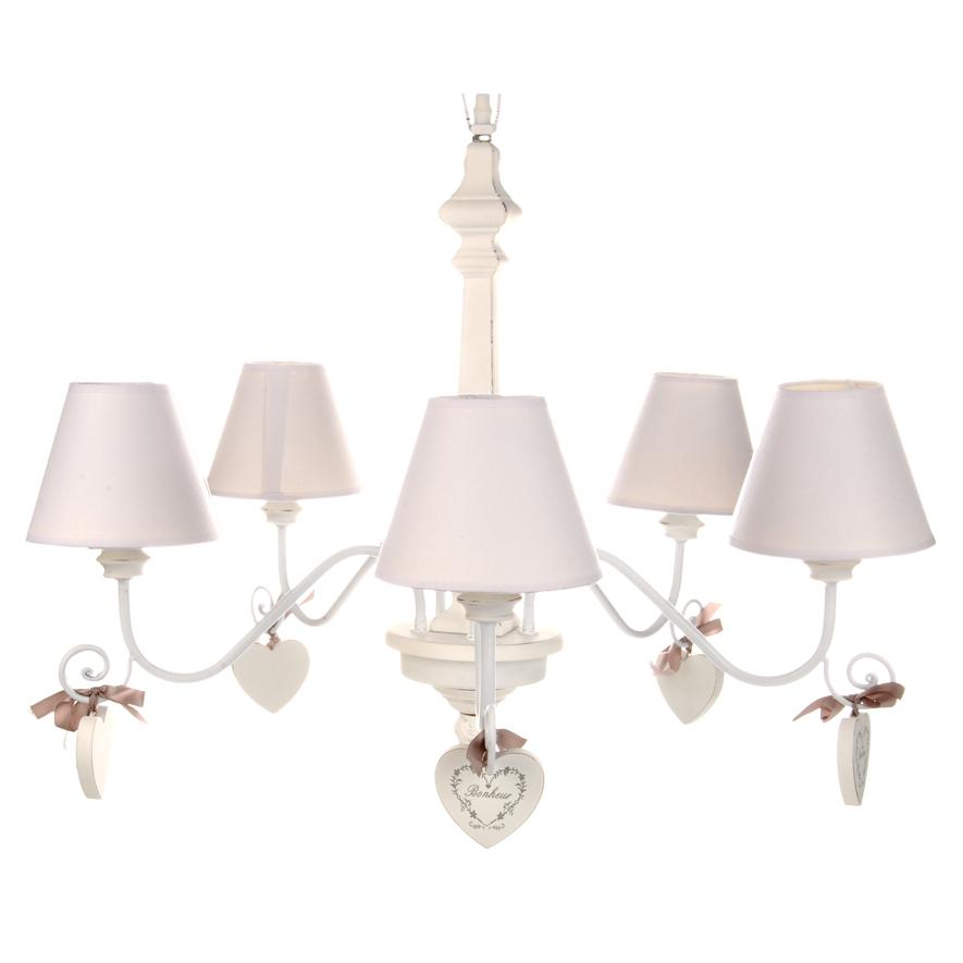 lampadari stile provenzale : Lampadario provenzale cuori - Etnico Outlet Offerte lampadari