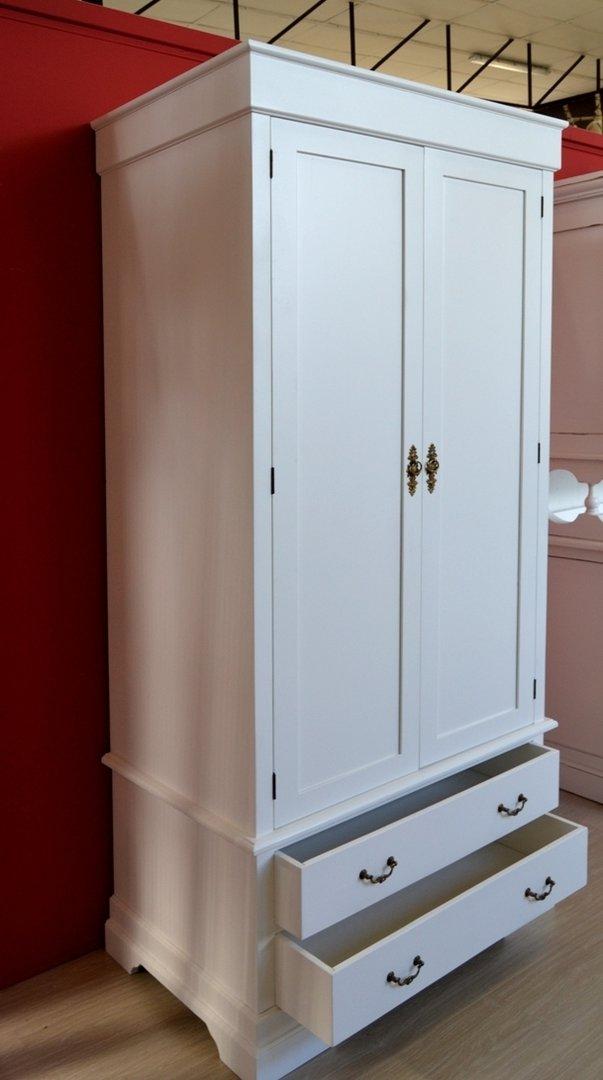 Armadio provenzale bianco armadi shabby chic bianchi legno for Bianco e dintorni arredamento provenzale