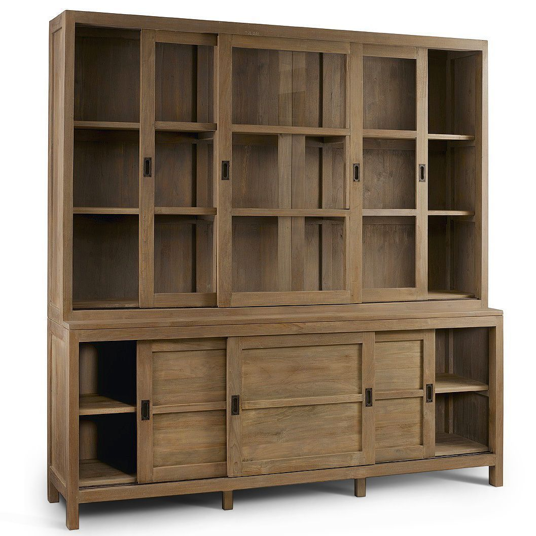 Libreria vetrina etnica ante scorrevoli outlet mobili etnici for Librerie vendita online