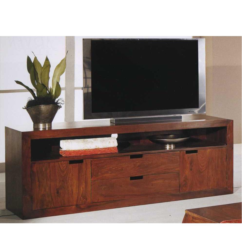 Mobile porta tv con cassetti mobile porta tv in legno etnici ethmm06 900 ebay for Mobile porta tv in legno