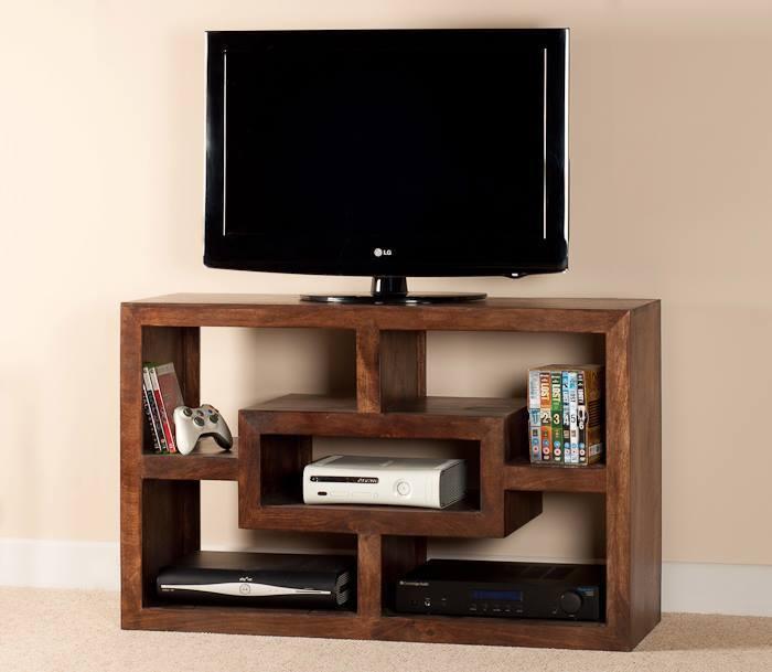 Mobile porta tv etnico legno col noce outlet mobili etnici - Mobili per tv in legno ...