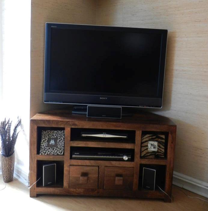 Mobili tv etnici vintage mobile porta tv etnico legno ad - Mobile ad angolo porta tv ...