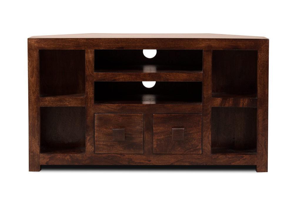 Mobili tv etnici vintage mobile porta tv etnico legno ad angolo - Mobile porta tv legno ...
