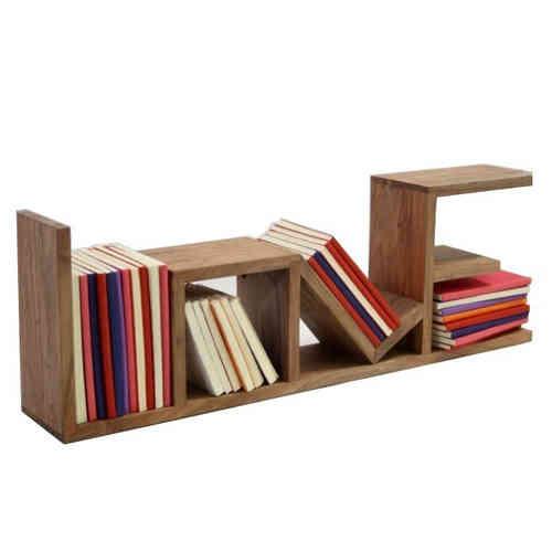 Mensole e pensili etnici arredo vintage e industrial for Mensole legno naturale
