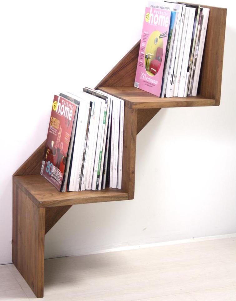 Mensola scala etnica legno massello prezzi scontati online for Mensole legno naturale