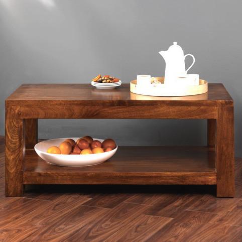 Tavolino etnico legno massello - Etnico Outlet mobili etnici