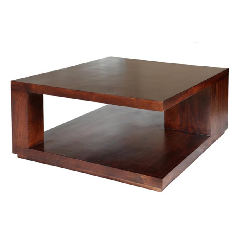 TAVOLO ETNICO QUADRATO tavoli etnici in legno massello quadrati ETHMM13-700 ...