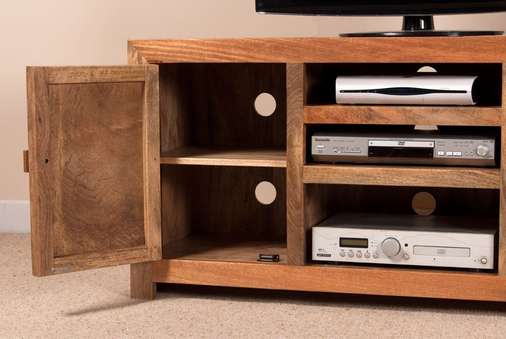 Mobile porta tv etnico legno mobili etnici prezzi scontati online - Mobili per tv in legno ...
