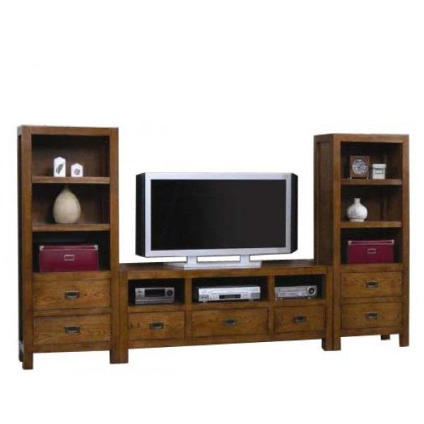 pareti attrezzate componibili ideare casa mobili soggiorno ...