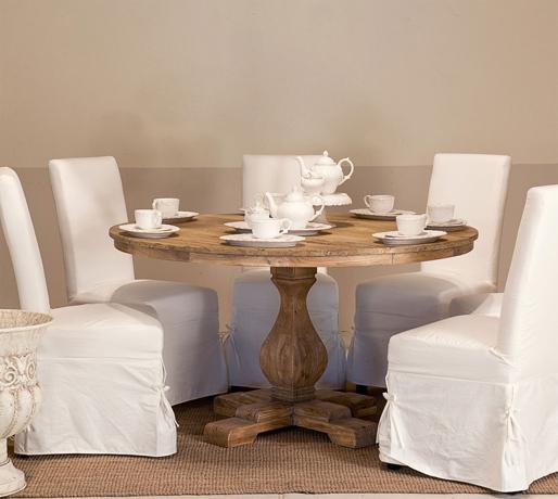 Tavolo provenzale rotondo mobili etnici provenzali - Soggiorno in francese ...