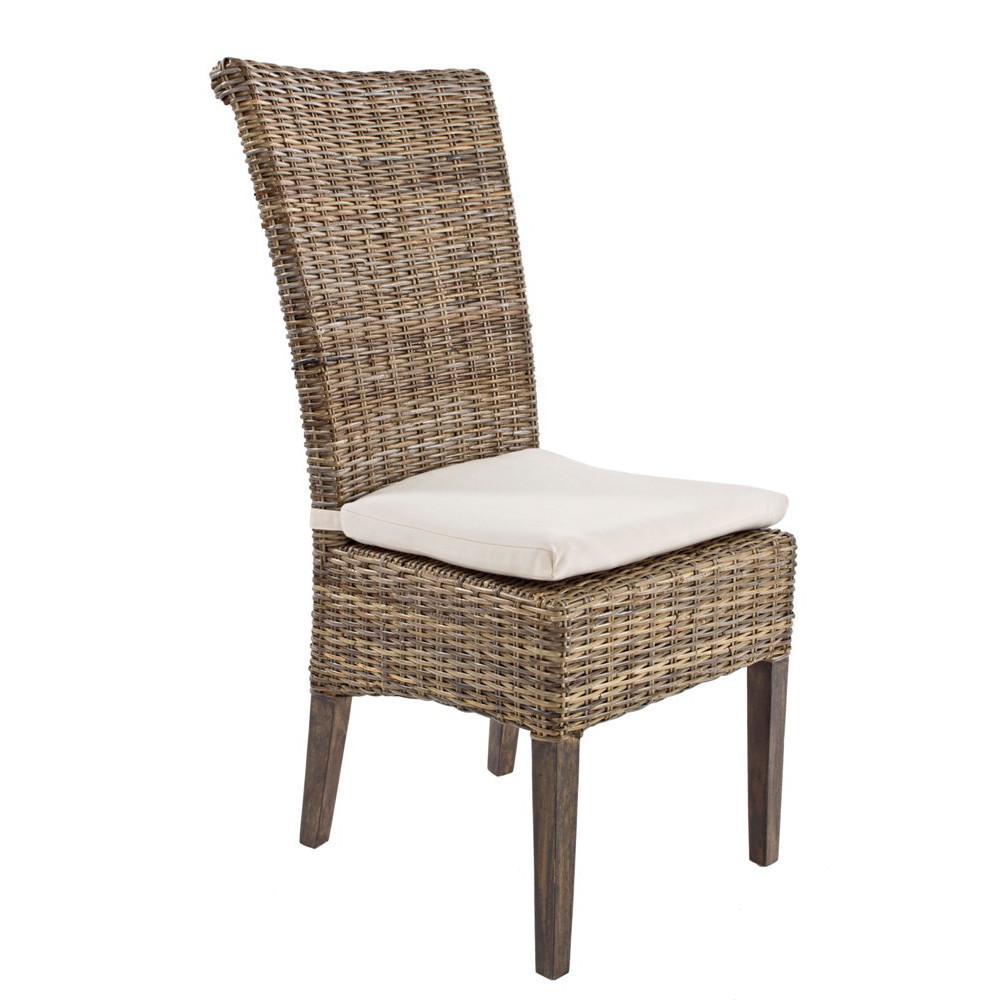 Sedia fibra intrecciata sedie intrecciate outlet mobili etnici - Sedie in vimini ikea ...